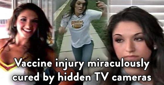 Desiree Jennings vaccine injury cured by TV cameras