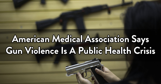 gun violence is a public health crisis