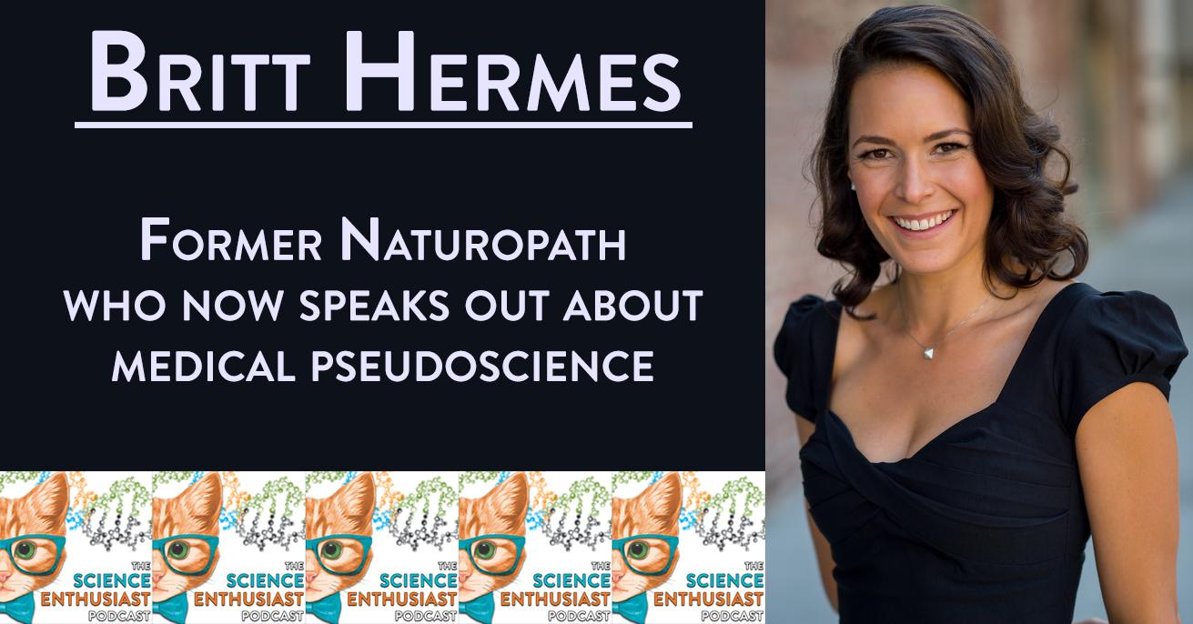 Britt Hermes Science Enthusiast Podcast