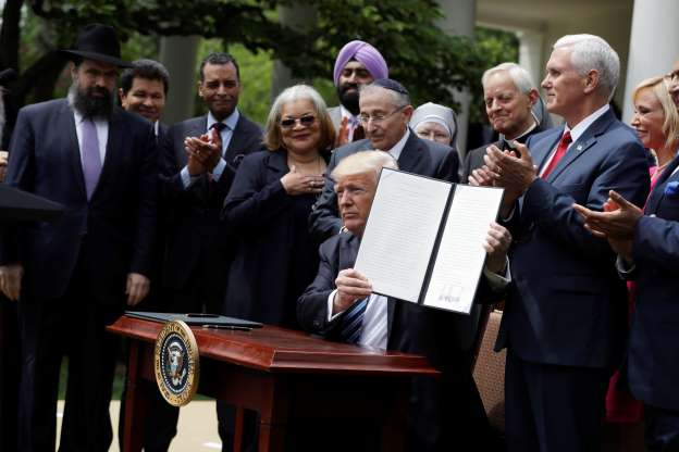 Donald Trump Executive Order Religious Liberty